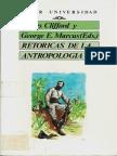 Clifford y Marcus - Retóricas de la Antropologia