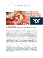 Métodos de Conservación de La Carne