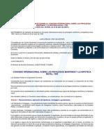 Convenio Sobre Los Privilegios Maritimos y La Hipoteca Naval