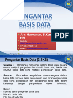 Chapter 1 - Pengantar Basis Data