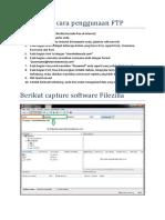 Tata Cara Penggunaan FTP