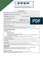 Plano de Ensino - Planejamento e Orçamento Empresarial