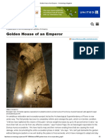 Golden House of an Emperor - Archaeology Magazine