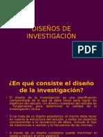 Diseños de investigaciones
