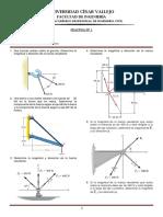 Estatica Pract 1 Fuerzas y Equilibrio UCV