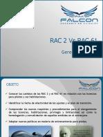 Estudio de Normas Rac p2 vs Rac 61 r3