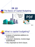 The Basics of Capital Budgeting - Financial Management