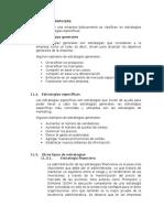 TIPOS de ESTRATEGIAS Francisco Yrrasabal