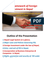 Legal Framework of Foreign Investment in Nepal 24