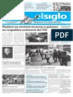 Edición Impresa Elsiglo 15-10-2016