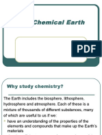 The Chemical Earth
