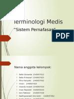 Terminologi Medis pernapasan