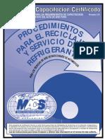 Manual de Capacitacion CertificadaSP Refrigerac