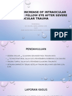 Jourding - Abnormal Increase of Intraocular Pressure in Fellow Eye