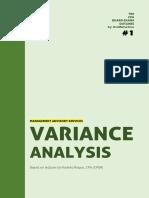 MAS - Variance Analysis