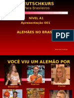 001 Deutsch A1 Alemães No Brasil