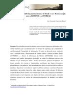 RAMOS, Luiz Figueiredo. A Comunidade de Informações no interior do Brasil