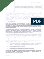 Dialectologia Espanola - Linguistica - Apuntes - UNED - Parte 1