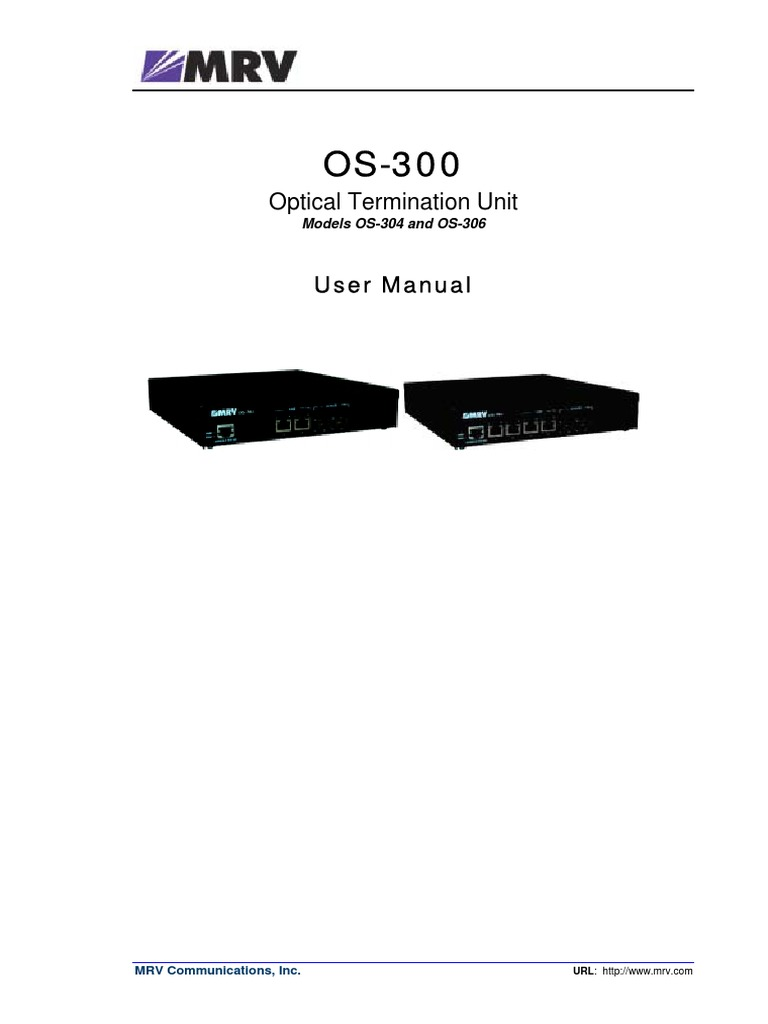 148128047 Mrv Os 300 User Manual Ml49480 Rev 01pdf Quality Of With The Pinout Wiring Upthe Connector Is Trivial Just Use Net Service Command Line Interface