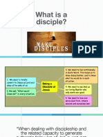1 What is a Disciple?
