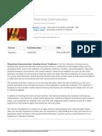Sage Publications Ltd - Theorizing Communication - 2016-09-13