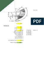 Platform Weight Calculator (Vertical Vessel)