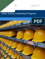 LRQA Safety Leadership Programme Brochure