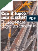 Progettista Industriale - Ri-Progettazione Dopo Incendio