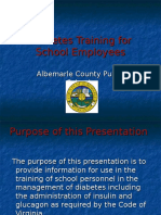Diabetes Training for School Employees 3