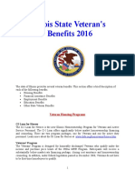 Vet State Benefits & Discounts - IL 2016