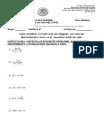 Segundo Examen Integral