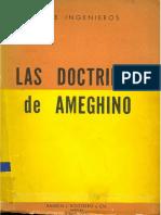INGENIEROS Las Doctrinas de Ameghino