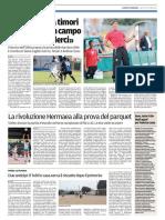 La Nuova Sardegna Gallura 15-10-2016 - Calcio Lega Pro