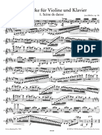 3 Pieces for Violin and Piano Op.116