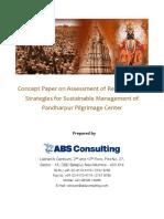 Pandharpur Concenpt Note