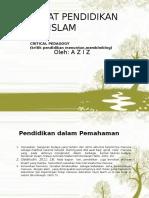 Power Point Filsafat Pendidikan Islam