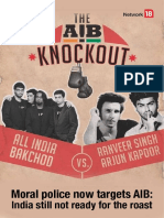 Moral Police Now Targets AIB