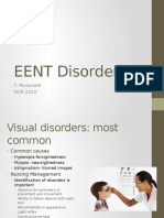 EENT Disorders Students