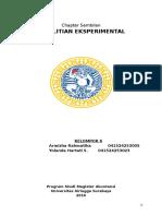 Resume Penelitian Eksperimental_Chapter Sembilan