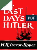 Last Days of Hitler, The - H. R. Trevor-Roper.pdf