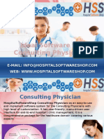 Get smart offer on hss on smart software to easily maintain patient records of a consulting physicion.