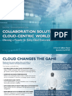 FrostSullivan Collaboration in a Cloud World