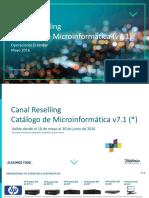 V 7.1 Catálogo Microinformática - Canal Reselling