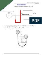 Ejercicios Propuestos Hidrostática FMF 2016I