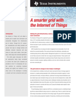 A smarter grid with the Internet of Things