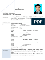 CV Of Osman