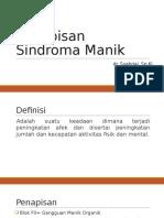 Penapisan Sindroma Manik