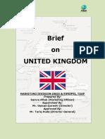 Tdap Report on United Kingdom