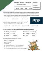 Teste 2- Versão a (Turma I e G)
