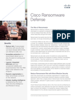 Cisco Ransomware Defense